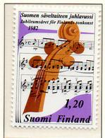 PIA - FINLANDIA - 1982 - Giubileo Della Musica Finlandese  - (Yv 860) - Musica