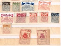 Lot Stadtpost Poste Locale Allemande à Identifier - Briefmarken