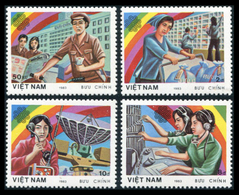 Vietnam 1983  YT 464-467 ; Mi# 1362-65 (*) MNG - Vietnam