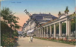 Luzern - Kursaal - E. Goetz Kunstanstalt Luzern Gel. 1923 - LU Lucerne