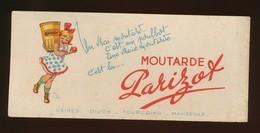 Buvard - Moutarde PARIZOT - Poulbot - Moutardes