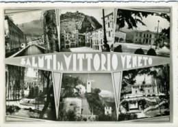 VITTORIO VENETO  TREVISO  Saluti Da..  Vedutine - Treviso