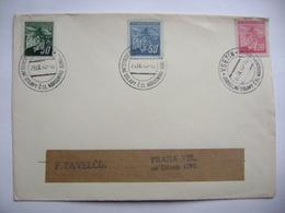 Commemorative Postmark VSETIN 29.IX.1945 Jubilejni Oslavy Čsl. Narodniho Odboje/Jubilee Celebrations Of The National.... - Tschechoslowakei/CSSR