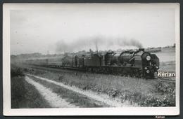 Photo P. Laurent 6 Réseau NORD - La Flèche D'Or - 231-E Villiers-le-Bel - Mai 1947 - Voir 2 Scans - Eisenbahnen