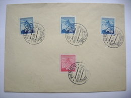 Commemorative Postmark BUSTEHRAD 10.VI.1945 Treti Vyroci Vyhlazeni Lidic/Third Anniversary Of The Destruction Of Lidice - Tschechoslowakei/CSSR