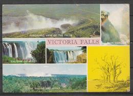 USED POSTCARD , VIEW CARD ZIMBABWAY TO PAKISTAN - Zimbabwe