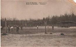 ***  Bourg Léopold Leopoldsburg (Camp De Beverloo) Plaine De Jeux -Football - ANGLE Defectueux  écrite - Leopoldsburg (Kamp Van Beverloo)