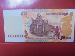 CAMBODGE 50 RIELS 2002 PEU CIRCULER/NEUF - Cambodia