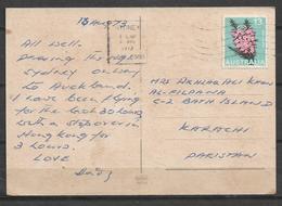 USED POSTCARD , VIEW CARD AUSTRALIA TO PAKISTAN - Australia