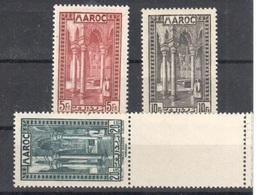 Morocco Maroc Good Values Mnh ** 40 Euros 1933 - Morocco (1891-1956)