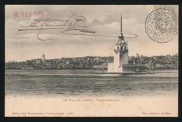 KONSTANTINOPEL -  LA TOUR DE LEANDRE    1905 - Turquie