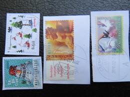 Hungary, Christmas, Natal, Noel, Navidad, Inland Definitives, 2018 - Used Stamps
