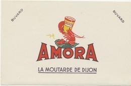 Buvard - Moutarde AMORA - 21x13cm - Mostaza