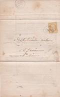 N° 21 S / Avis Chargement ( Complet )  T.P. Ob T 15 St Junien 20 Nov 65 - Postmark Collection (Covers)