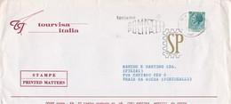 Italia 1976 Flamula Teniamo Roma Pulita Cover Tourvisa Ema Meter Freistempel Rome Praia Da Rocha Coliseu - Protezione Dell'Ambiente & Clima