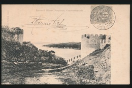 KONSTANTINOPEL -  ROUMELI HISSAR  BOSPHORE   1905 - Turkije