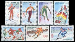 Vietnam 1984  YT 478-484 ; Mi# 1402-08 (*) MNG - Vietnam