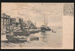KONSTANTINOPEL -  LES QUAIS DE GALATA   1905 - Turquie