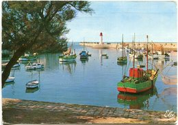Carte Postale 17-LA COTINIERE Le Port Et Le Phare - Ile D'Oléron