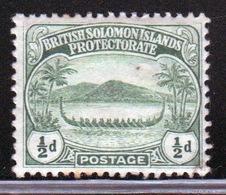 British Solomon Islands 1908 Single Half Penny Stamp. - Isole Salomone (...-1978)