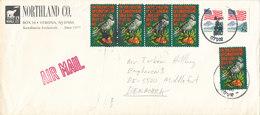 USA Cover Sent To Denmark 20-4-1990 - United States