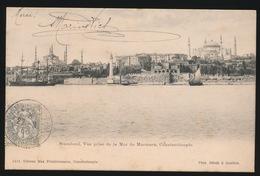 KONSTANTINOPEL -  STAMBOUL  VUE PRISE DE LA MER DE MARMARA    1905 - Turkije