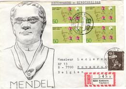 D+ Deutschland 1984 Mi 1199 Gregor Mendel (UNIKAT / ÙNICO / PIÉCE UNIQUE / JEDINEČNÝ) - [7] République Fédérale