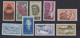 Cyprus 1962 Definitives 9v ** Mnh (42924) - Ongebruikt