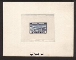 MAROC Épreuve Avion 1933 Sans Faciale. Superbe & Rare !  (50c.) - Poste Aérienne