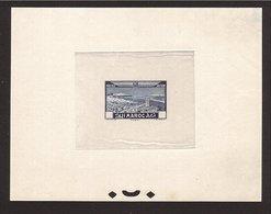 MAROC Épreuve Avion 1933 Sans Faciale. Superbe & Rare !  (50c.) - Morocco (1891-1956)