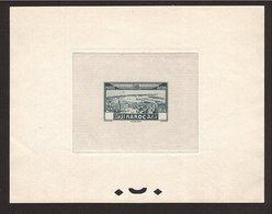 MAROC Épreuve Avion 1933 Sans Faciale. Superbe & Rare !  (10frs.) - Poste Aérienne