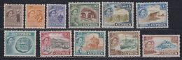 Cyprus 1955 Definitives 11v * Mh (= Mint, Hinged) (42925) - Ongebruikt