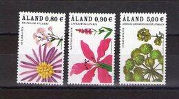 Aland. Fleurs Sauvages Des Rivages - Aland