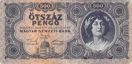 500 Pengö Ungarn 1945 VF/F (III) - Ungarn