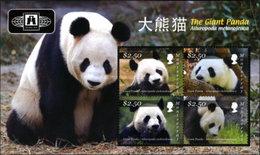 Montserrat 2010 M/S Giant Panda Stamp Philatelic Expo BEIJING Animals Big Cats Nature Fauna Stamps Collections - Montserrat