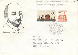 D+ Deutschland 1985 Mi 1240 Ignatius Von Loyola, Verden (UNIKAT / ÙNICO / PIÉCE UNIQUE / JEDINEČNÝ) - Cartas