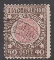 Italy S 115 1921 Annexion Of Venezia Giulia, 40c Brown And Rose, Used - 1900-44 Vittorio Emanuele III