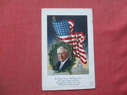 President Wilson  US  Flag .    Ref 3396 - Historical Famous People