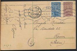 °°° 6305 - AUSTRIA - WIEN - KRIEGSMINISTERIUM - 1922 With Stamps °°° - Altri