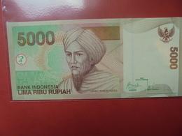 INDONESIE 5000 RUPIAH 2009 PEU CIRCULER/NEUF - Indonesia