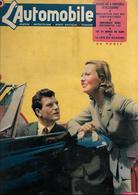 Revue Ancienne L'Automobile 1951 N° 63 Deux Fervents Automobilistes  Henri Vidal Et Michèle Morgan 1951 - Auto/Motorrad
