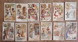 13 Images Publicitaires CHOCOLAT GUERIN-BOUTRON : Les Compositeurs De Musique - Chocolate