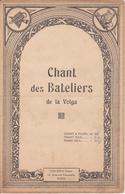Partition Musique / Chant Des Bateliers De La Volga / Philippo Editeur - Corales