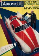 Revue Ancienne L'Automobile 1954 N° 98 La Voiture à Turbine Fiat    250 à L'heure   200 Cv  1954 - Auto/Motorrad
