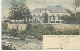 VILVORDE - VILVOORDE : L'Entrée De La Correction - Prison Militaire - RARE VARIANTE COLORISEE - Vilvoorde
