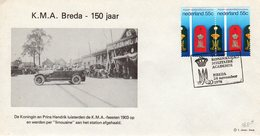 24 Nov. 1978 Herdenkingsenvelop KONINKLIJKE MILITAIRE ACADEMIE Breda - Marcophilie