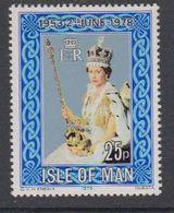 Isle Of Man 1978 Coronation 1v ** Mnh (42926A) - Man (Eiland)