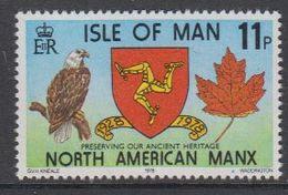 Isle Of Man 1978 North American Manx 1v ** Mnh (42926C) - Man (Eiland)