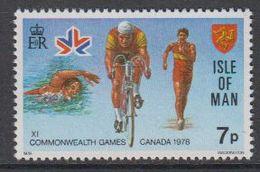 Isle Of Man 1978 Commonwealth Games Canada 1v ** Mnh (42926CD - Man (Eiland)