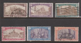 Italy S 166-171 1924 Holy Year, Used - 1900-44 Vittorio Emanuele III